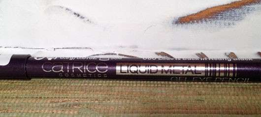 Catrice Liquid Metal Gel Eye Pencil, Farbe: 060 Lilac Is Back In Nearly Black