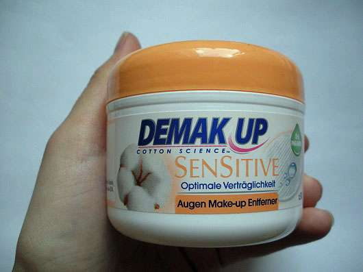 Demak'Up Sensitive Augen-Make-up Entferner Pads