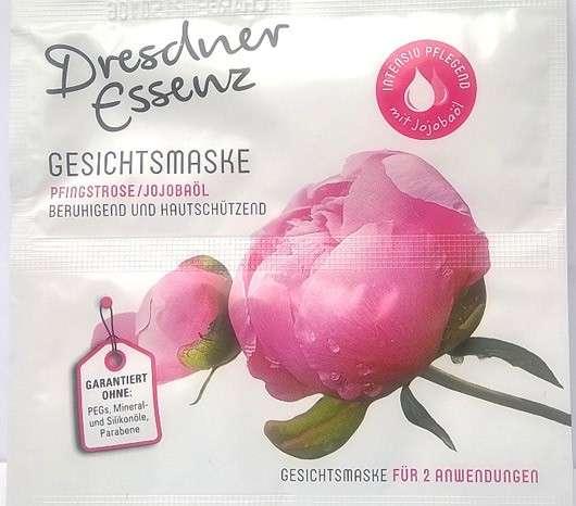 Dresdner Essenz Gesichtsmaske Pfingstrose/Jojobaöl