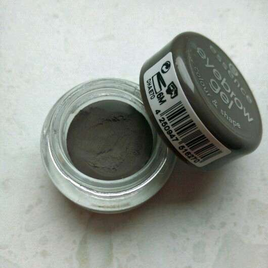 essence eyebrow gel colour & shape, Farbe: 01 brown