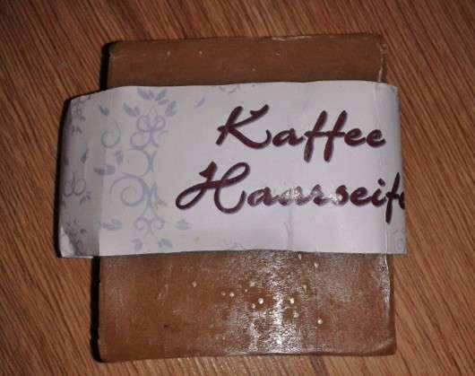 Seifenmanufaktur Petra Mehlhose Haarseife Kaffee