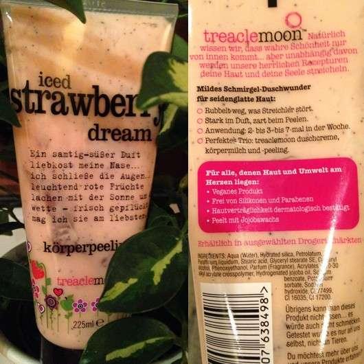 treaclemoon iced strawberry dream körperpeeling (LE)