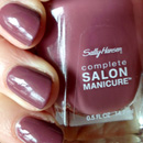 Sally Hansen Complete Salon Manicure Nagellack, Farbe: 360 Plum's The Word