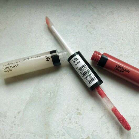 test lipgloss manhattan lips2last gloss farbe 59l testbericht von lulusbeauty. Black Bedroom Furniture Sets. Home Design Ideas