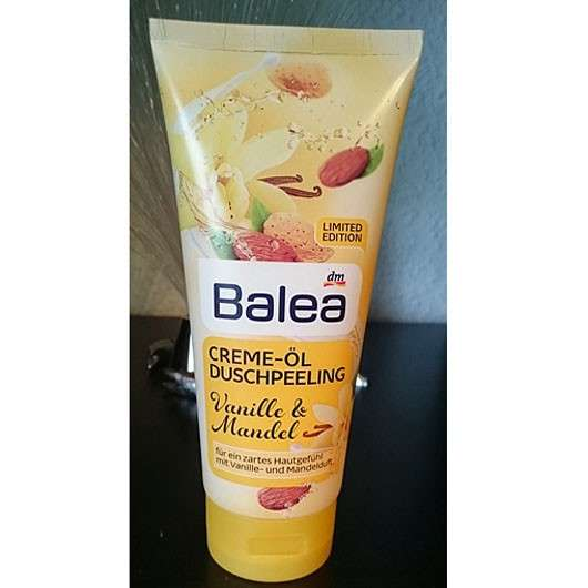 Balea Creme-Öl Duschpeeling Vanille & Mandel (LE)