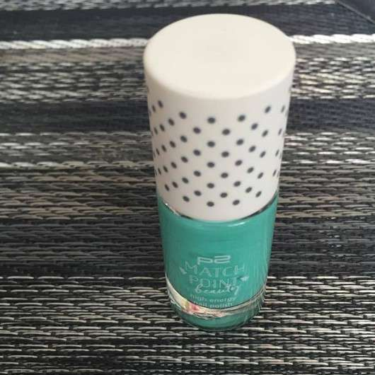 p2 match point beauty high energy nail polish, Farbe: 030 active mint (LE)