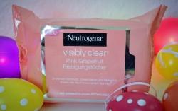 Produktbild zu Neutrogena Visibly Clear Pink Grapefruit Reinigungstücher