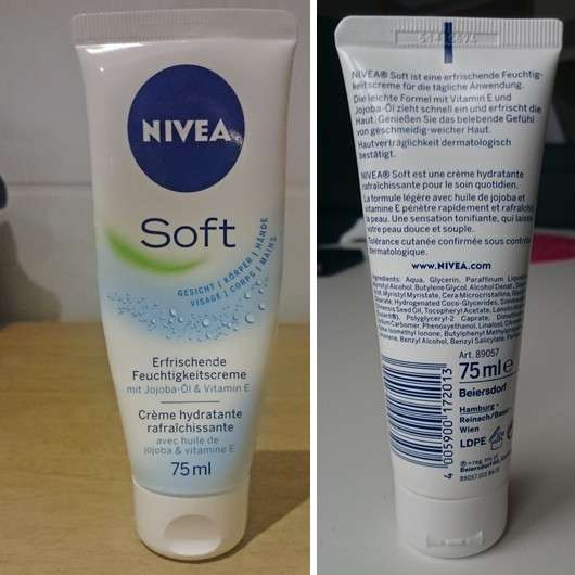 Nivea soft creme erfahrungsbericht