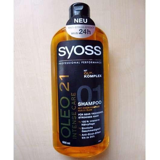 SYOSS OLEO 21 Intense Care Shampoo