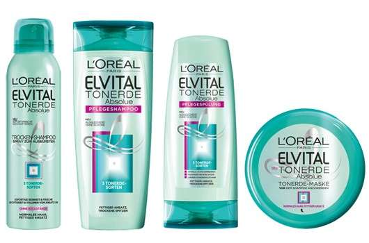 L'Oréal Paris Elvital Tonerde Absolue Haarpflege-Serie