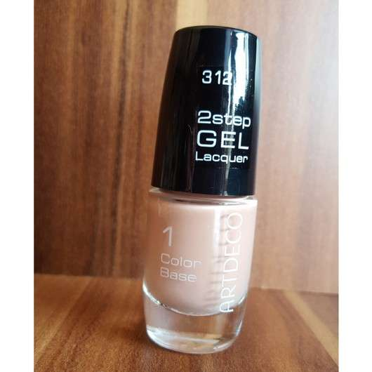 ARTDECO 2step Gel Lacquer Color Base, Farbe: 312 capuccino flavour