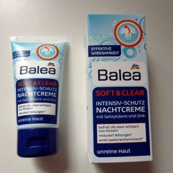 Produktbild zu Balea Soft & Clear Intensiv-Schutz Nachtcreme