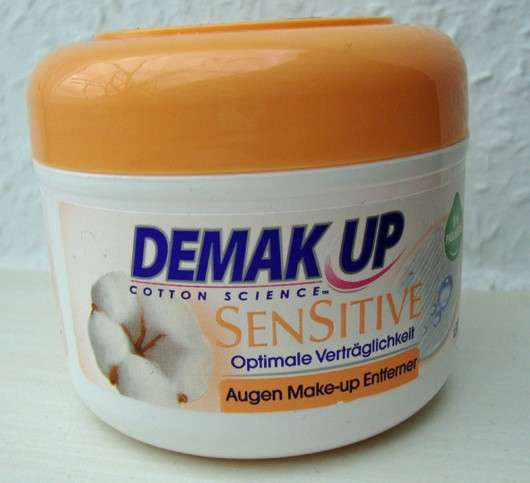 Demak'Up Sensitive Augen Make-up-Entferner Pads