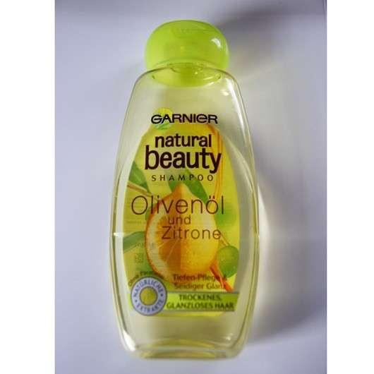 test shampoo garnier natural beauty shampoo oliven l. Black Bedroom Furniture Sets. Home Design Ideas