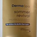 Dove DermaSpa Sommer Revival Body Lotion (für mittlere bis dunkle Haut)