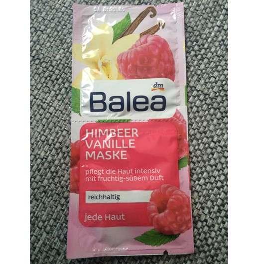 Balea Himbeer Vanille Maske