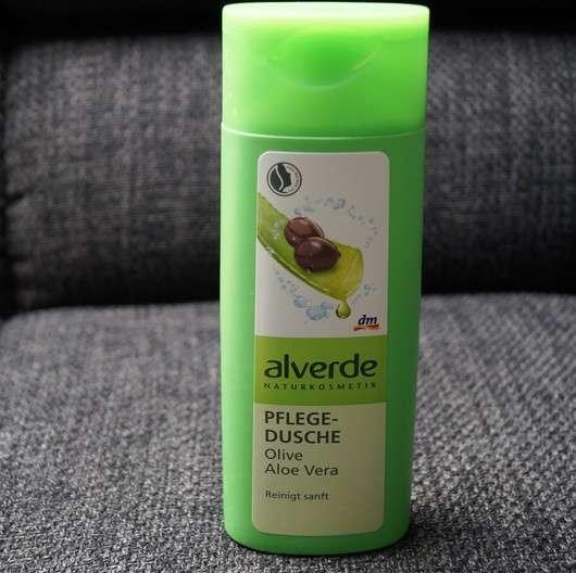 alverde Pflegedusche Olive Aloe Vera