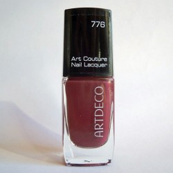 Produktbild zu ARTDECO Art Couture Nail Lacquer – Farbe: 776 Couture Red Oxide