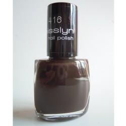 Produktbild zu Misslyn nail polish – Farbe: 416 double chocolate