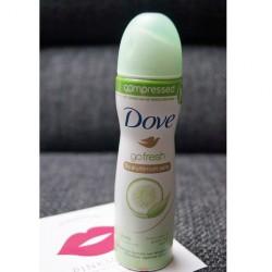Produktbild zu Dove go fresh compressed Deo-Spray Grüner Tee- & Gurkenduft