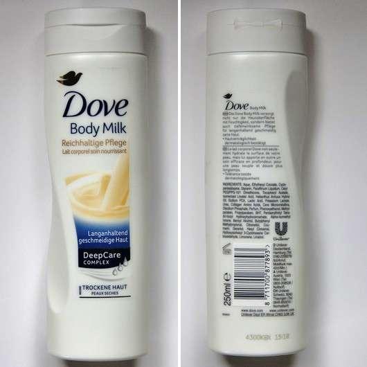 Dove Body Milk Reichhaltige Pflege (Trockene Haut)