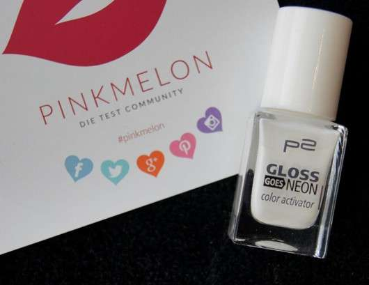 p2 gloss goes neon color activator