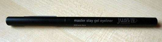 just cosmetics master stay gel eyeliner, Farbe: 010 lamb black