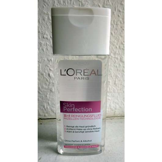 L'ORÉAL PARiS SkinPerfection 3in1 Reinigungsfluid Mizellen-Technologie
