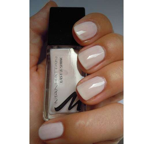 Manhattan Last & Shine Nail Polish, Farbe: 200 Sweet Creams
