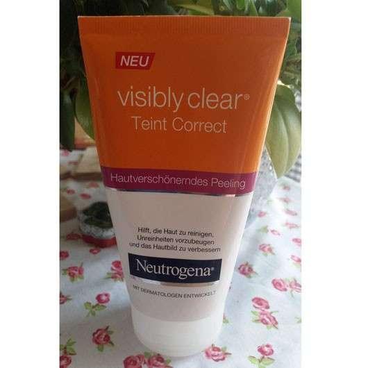 Neutrogena visibly clear Teint Correct Hautverschönderndes Peeling