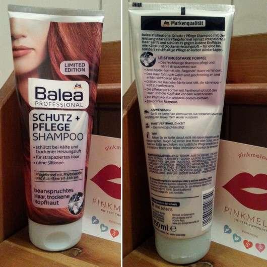 test shampoo balea professional schutz pflege shampoo le testbericht von suppenhuhn. Black Bedroom Furniture Sets. Home Design Ideas