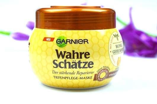Garnier Wahre Schätze Der stärkende Reparierer Tiefenpflege-Maske Honig-Geheimnisse
