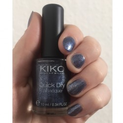 Produktbild zu KIKO quick dry nail lacquer – Farbe: 856 Pearly Jeans