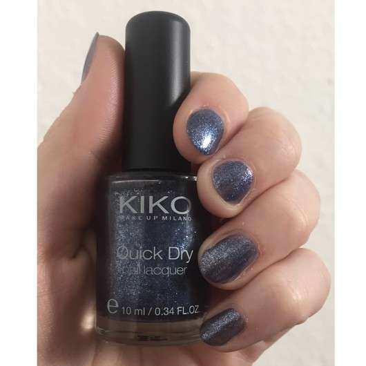 KIKO Quick Dry Nagellack Farbe: 856 Pearly Jeans