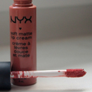 NYX Soft Matte Lip Cream, Farbe: Stockholm
