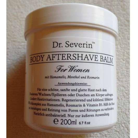 test after shave pflege dr severin body aftershave. Black Bedroom Furniture Sets. Home Design Ideas