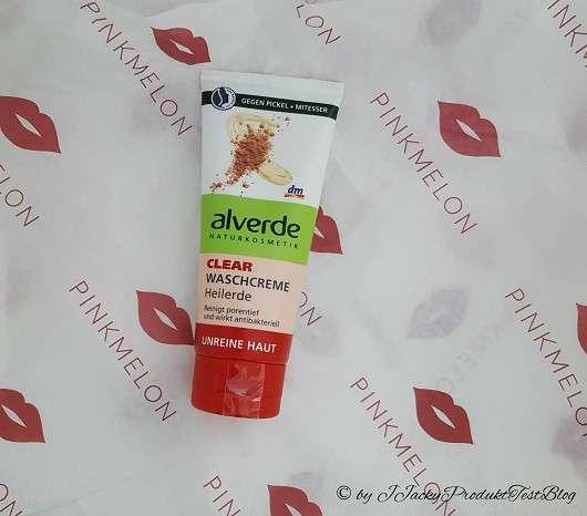 <strong>alverde Clear</strong> Waschcreme Heilerde (für unreine Haut)