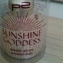 p2 sunshine goddess golden allure powder dust (LE)