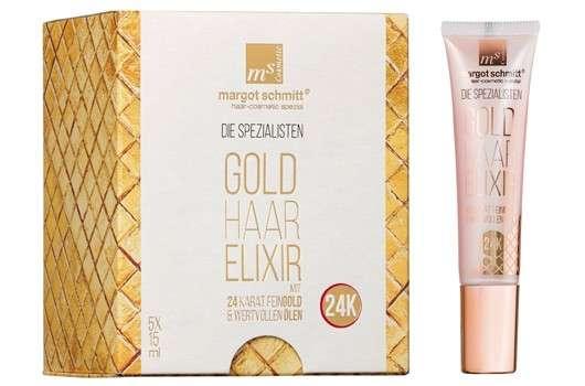 Neues Haarelixir mit purem Gold von Margot Schmitt