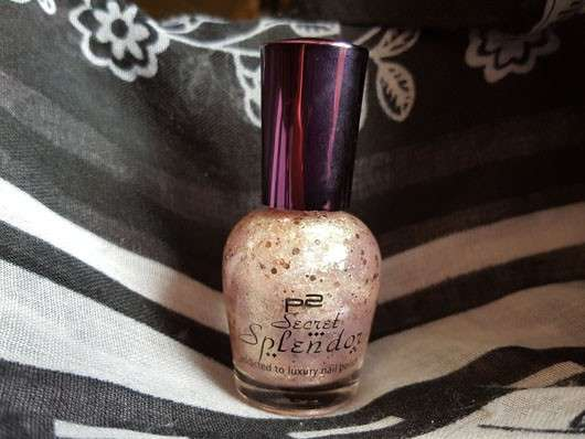 p2 secret splendor addicted to luxury nail polish, Farbe: 050 gold jewel (LE)