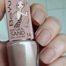 BeYu Natural Sand Nail Lacquer, Farbe: 14 Bronze Gold (LE)