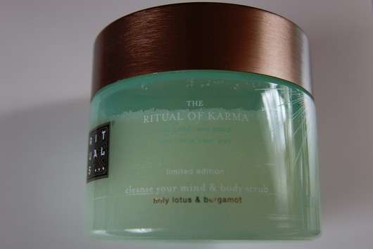 RITUALS The Ritual of Karma cleanse your mind & body scrub (LE)