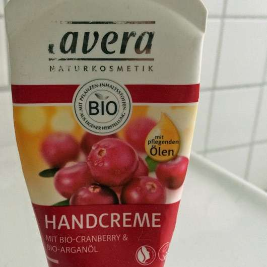 lavera Handcreme Mit Bio-Cranberry & Bio-Arganöl