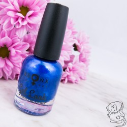 Produktbild zu BRONX COLORS Gel Look Nail Lacquer – Farbe: NLGL10 Cobalt Blue