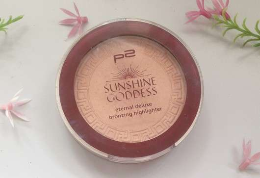 p2 sunshine goddess eternal deluxe bronzing highlighter, Farbe: refined golden (LE)