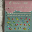 essence nail art sticker, Nr. 17 vintage