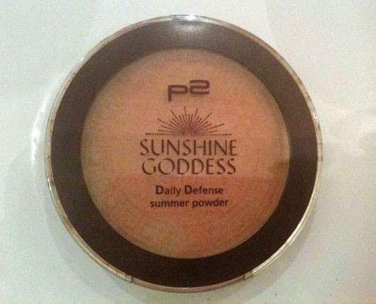 p2 sunshine goddess daily defense summer powder, Farbe: 020 sun tanned (LE)