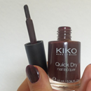 KIKO quick dry nail lacquer, Farbe: Farbe: 812 Mahogany