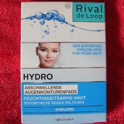 Produktbild zu Rival de Loop Hydro Abschwellende Augenkonturenpads