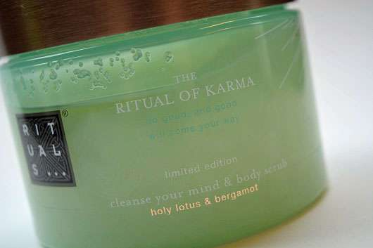 test k rperpeeling rituals the ritual of karma cleanse. Black Bedroom Furniture Sets. Home Design Ideas